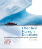 effective human relations (11th edition): part 1