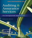 Ebook Auditing and assurance services (15th edition): Part 1