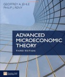 advanced microeconomic theory (3rd edition): part 1