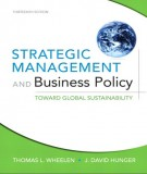 strategic management and business policy (13th edition): part 1