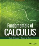 fundamentals of calculus: part 1