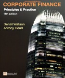 Ebook Corporate finance - Principles and practice (5th edition): Part 1