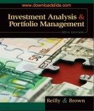 Ebook Investment analysis & portfolio management (10th edition): Part 1