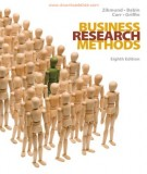 Ebook Business research methods (8th edition): Part 2