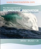 Ebook The management of technology and innovation (2nd edition): Part 2