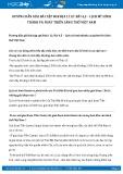Hướng dẫn giải bài 1,2,3 trang 23 SGK Địa lí 12