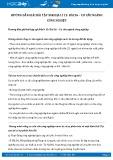 Hướng dẫn giải bài 1,2,3,4 trang 117 SGK Địa lí 12