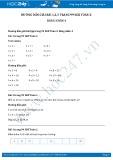Giải bài tập Bảng nhân 4 SGK Toán 2