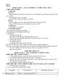 Giáo án Hóa học 10 bài 23: Hiđro clorua - Axit clohiđric và muối clorua