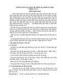 Hướng dẫn xây dựng đề kiểm tra định kì môn Khoa học theo Thông tư 22