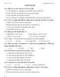 Bài tập Vật lý 8 học kỳ II
