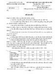 Đề thi HSG cấp huyện năm 2016-2017 môn Địa lý 9 - Phòng GD&ĐT huyện Xuân Lộc (Đề số 1 - Có đáp án)