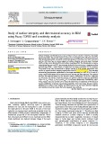Study of surface integrity and dimensional accuracy in EDM using Fuzzy TOPSIS and sensitivity analysis
