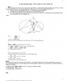 12 Bài hình học 9 ôn thi tuyển sinh 10 (Có hướng dẫn giải chi tiết)