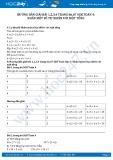 Hướng dẫn giải bài 3,4 trang 67 SGK Toán 4