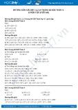 Hướng dẫn giải bài 1,2,3,4 trang 68 tiết 58 SGK Toán 4