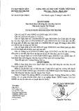 Quyết định Ban hành Quy chế công tác văn thư, lưu trữ Nhà nước huyện Núi Thành