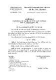 Quyết định Ban hành Quy chế làm việc của UBND huyện Núi Thành  Khóa XI, nhiệm kỳ 2016-2021
