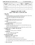 Giáo án Tin học 6 bài 14: Soạn thảo văn bản đơn giản - GV. Nguyễn Thị Thu Hằng