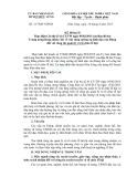 Kế hoạch thực hiện Chỉ thị số 41-CT/TW ngày 05/02/2015 của Ban Bí thư Trung ương Đảng (khóa XI)