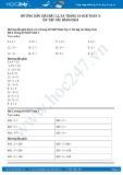 Hướng dẫn giải bài 1,2,3,4 trang 10 SGK Toán 3