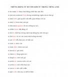 Động từ đi với giới từ trong tiếng Anh