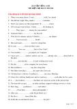 Bài tập tiếng Anh: Thì hiện tại hoàn thành