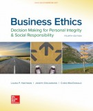 business ethics - decision making for personal integrity and social responsibility (4th edition): part 1
