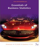 Ebook Essentials of business statistics (5th edition): Part 1