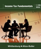Ebook Income tax fundamentals (2011 edition): Part 1