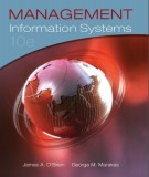 management information systems (10th edition): part 1