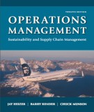 Ebook Operations management (12th edition): Part 1