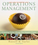 Ebook Operations management - Creating value along the supply chain (7th edition): Part 2