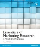 Ebook Essentials of marketing research - A hands on orientation (Global edition): Part 1