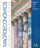 Ebook Macroeconomics - Private and public choice (13th edition): Part 1