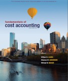 Ebook Fundamentals of cost accounting (4th edition): Part 1
