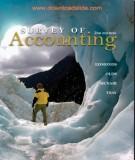 Ebook Survey of accounting (2E): Part 1