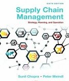 supply chain management (6th edition): part 2