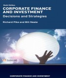 Ebook Corporate finance and investment (6th edition): Part 1