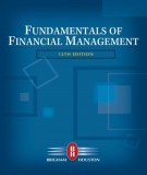 Ebook Fundamentals of financial management (12E): Part 1