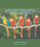 Ebook Understandable statistics (9th edition): Part 1