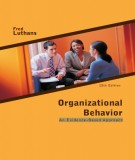 Ebook Organizational behavior - An evidence-Based approach (12th edition): Part 1