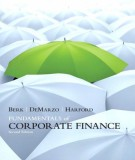 Ebook Fundamentals of corporate finance (2E): Part 1