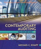 Ebook Contemporary auditing real issues and cases (9th edition): Part 1
