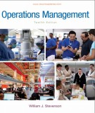 Ebook Operations management (12th edition): Part 2 - William  J. Stevenson