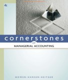 Ebook Cornerstones of managerial accounting (4th edition): Part 2