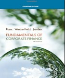 Ebook Fundamentals of corporate finance (10th edition): Part 1