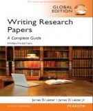 writing research papers - a complete guide (15th edition): part 1
