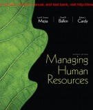 Ebook Managing human resources (7th edition): Part 1