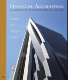 Ebook Financial accounting  - An introduction to concepts, methods, and uses (13th edition): Part 1